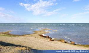 view of Buir Lake