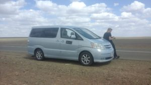 Car transportation from Ulaanbaatar to Gobi