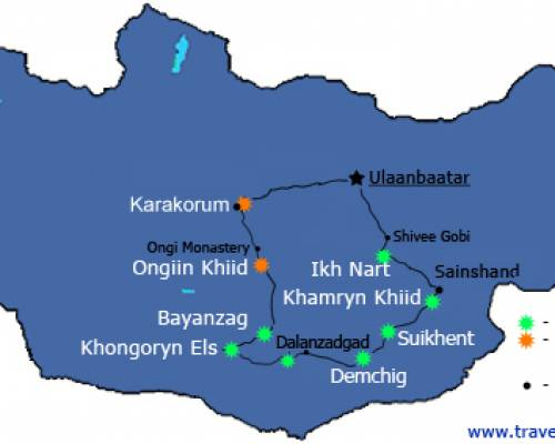 East & South Gobi Adventure - Travel Gobi Mongolia
