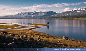 Khoton Lake view