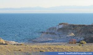 view of Khyargas Lake
