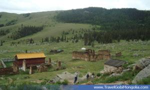 Mandzushir Monastery view