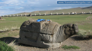 Turtle Rock & Erdene Zuu Wall view