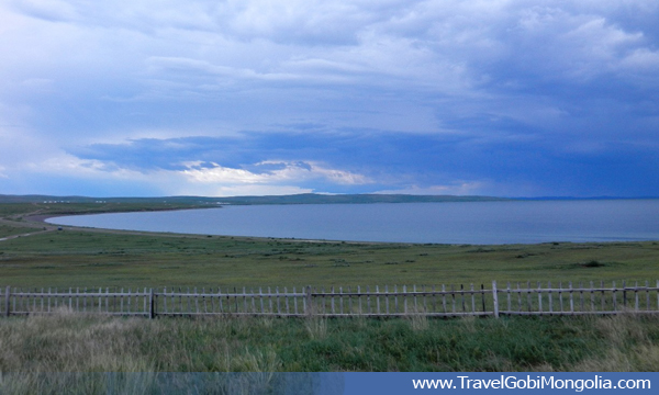 view of Ugii Lake
