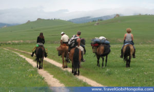 tourists usually do a day horse trek there between Orkhon Waterfall & Naiman Lakes area