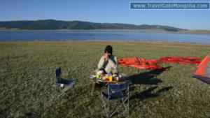 camping at north Mongolia