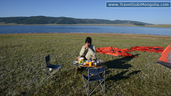 camping at north Mongolia