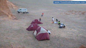 camping is really nice in Mongolia