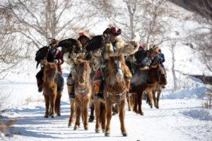 eagle hunters' parade