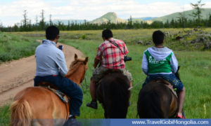 Mongolia horse back riding