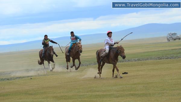 horse racing in Karakorum during Naadam Festival