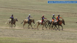 local horse racing in Karakorum