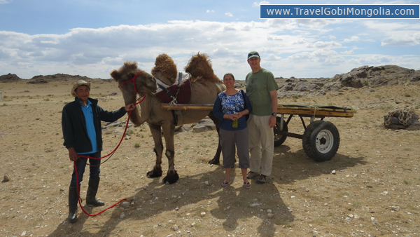 our 2 customers in East Gobi Desert