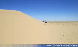 there is small sand dunes