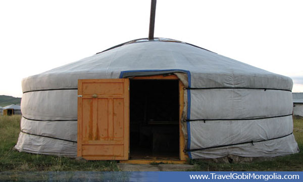 A Ger room of Amarbayasgalant Urgii tourist ger camp near Amarbayasgalant Monastery, North Mongolia