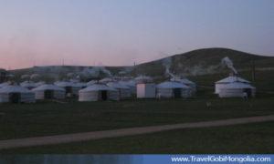 evening view of Khustai resort