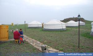 ger accommodation of Juulchin Khanbogd TGC
