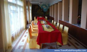 inside of the restaurant of Juulchin Khanbogd TGC