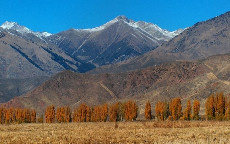 Altai Mountains in the autumn