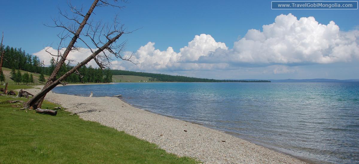 Khovsgol Lake view